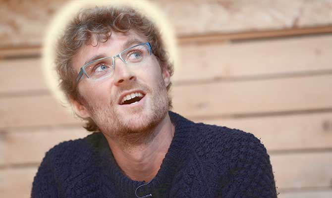 Paddy Cosgrave halo