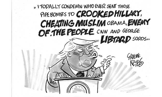 Keyes - Trump rant