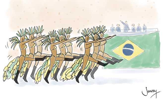 Jonsey - Brazil dancers
