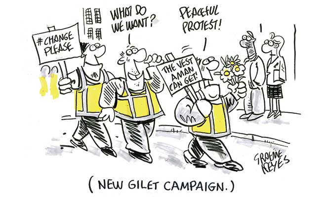 Keyes - gilet campaign