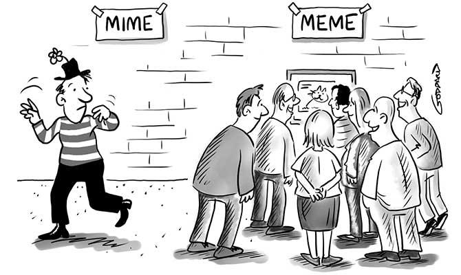Goddard - Mime meme