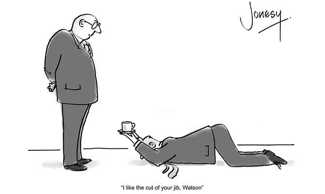 Jonesy - Cut of your jib