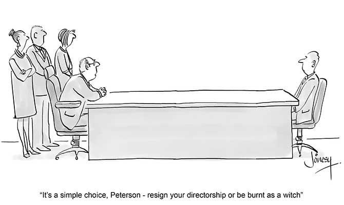 Jonesy - peterson resign