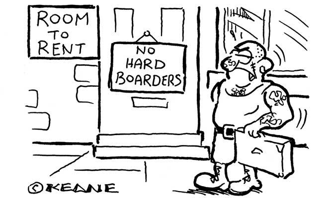 Keane - No hard borders