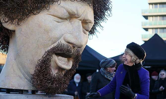 Luke Kelly Statue
