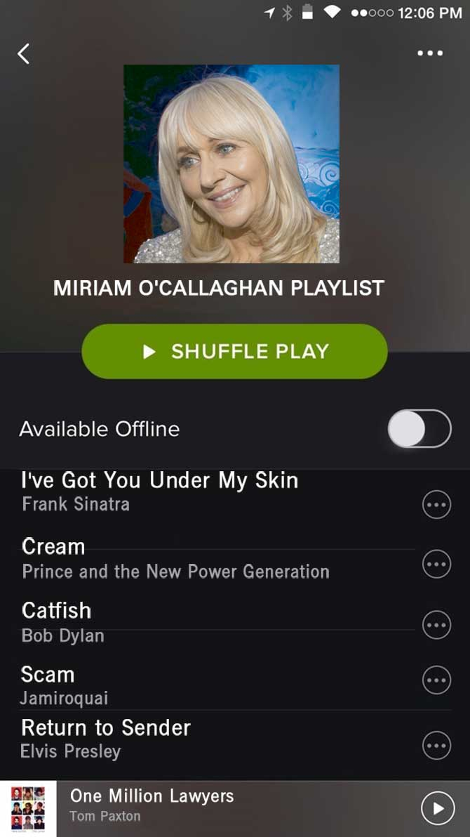 Spotify Miriam