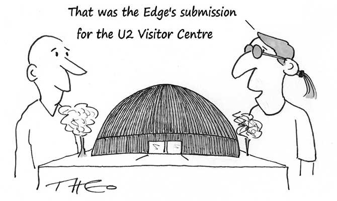 Theo - U2 visitor centre