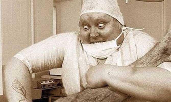 scary surgeon