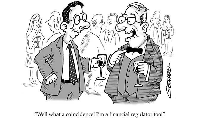 Goddard - Financial regulator