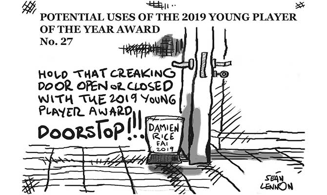 Lennon - Young player of the year