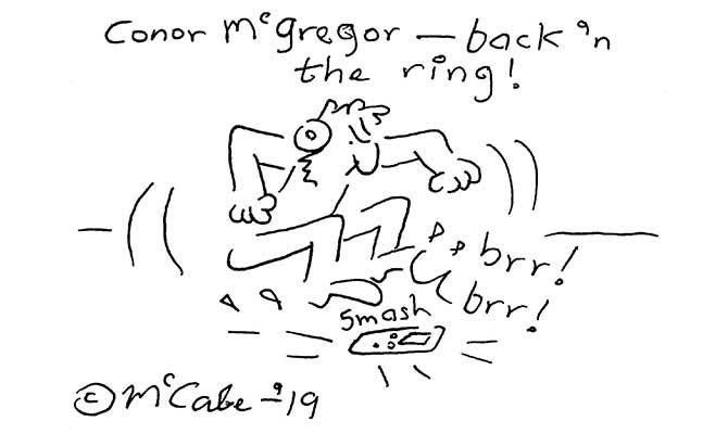 McCabe - Conor McGregor