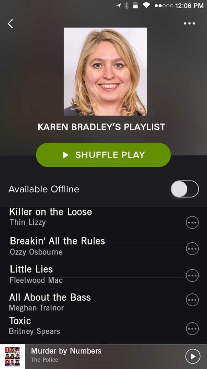 Spotify Bradley