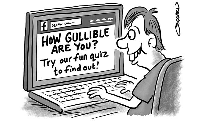 Goddard - How gullible are you
