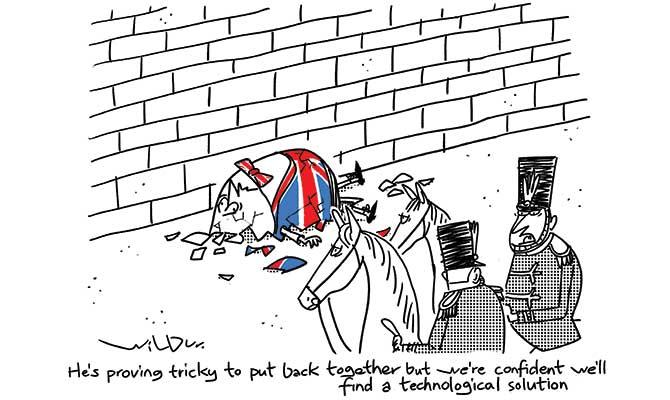 Wilbur - Brexit top humpty