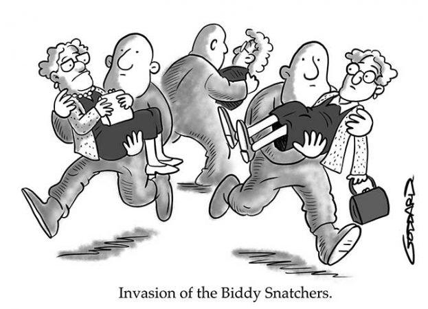 Goddard - Biddy snatchers