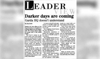 Drogheda Leader scoop