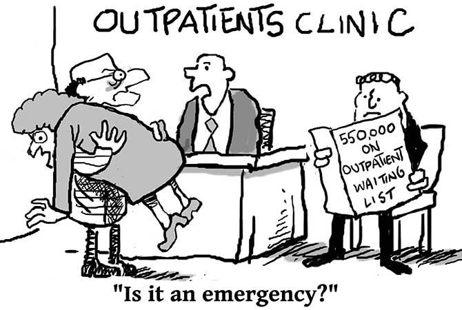 Lennon - Outpatient waiting lists