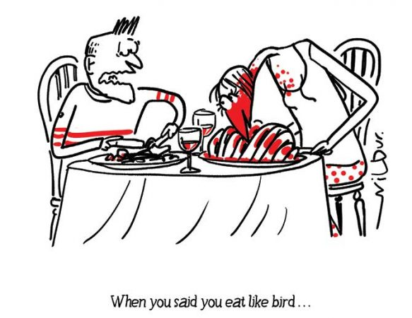 Wilbur - Food bird