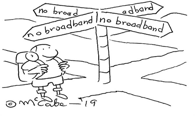 no broadband