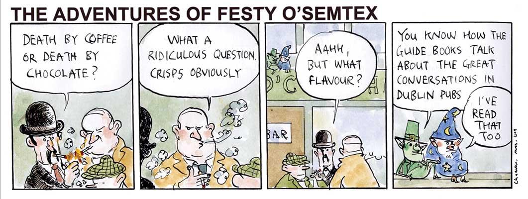 Festy - Death by Crisps