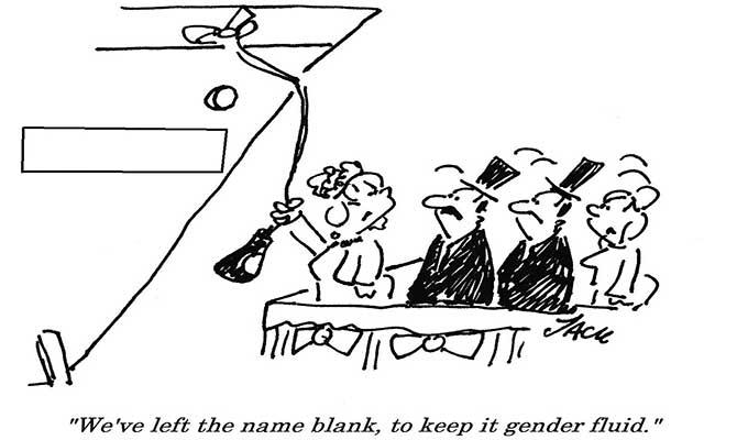 Jack - Launch gender fluid