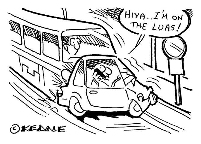 Keane - On the Luas