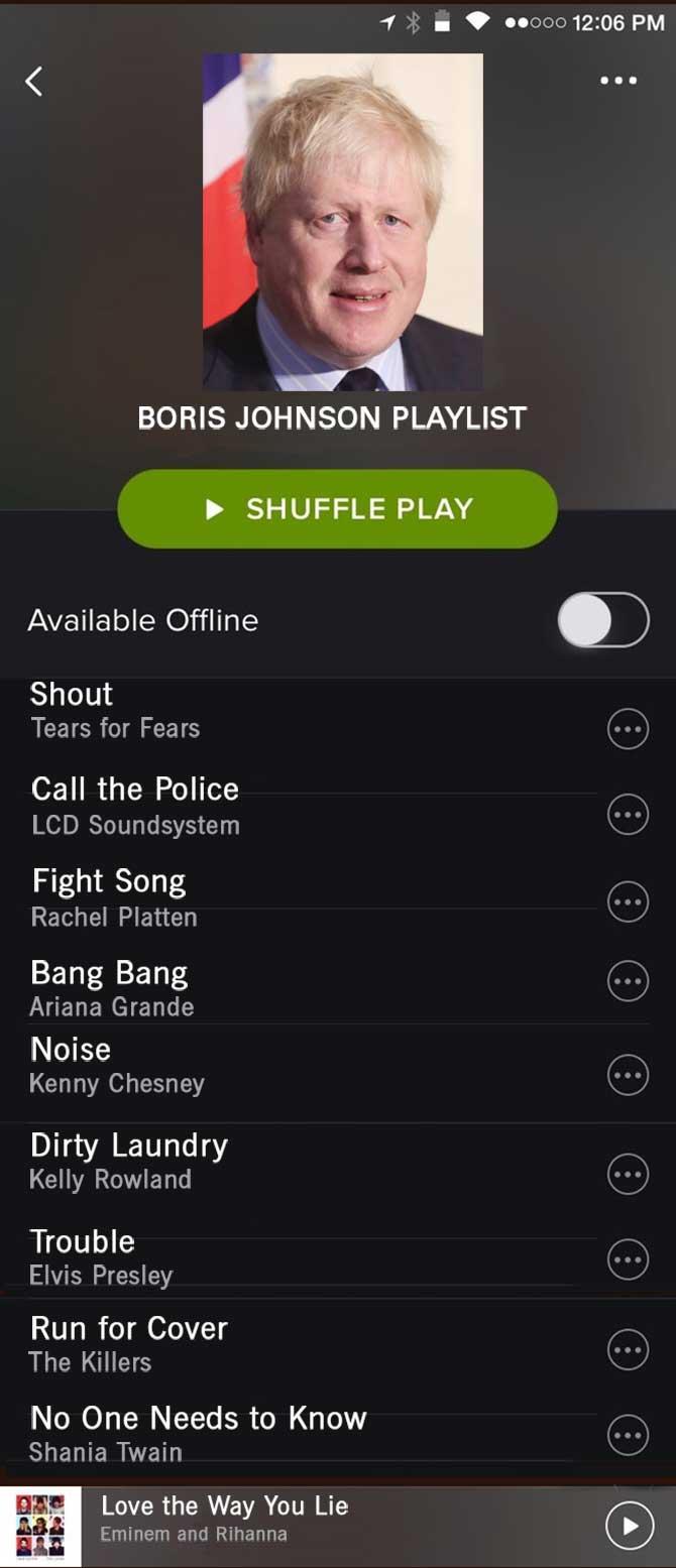 Spotify Boris