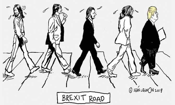 Lennon - Brexit Road