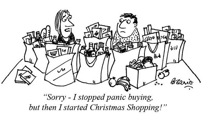Bernie - Christmas shopping