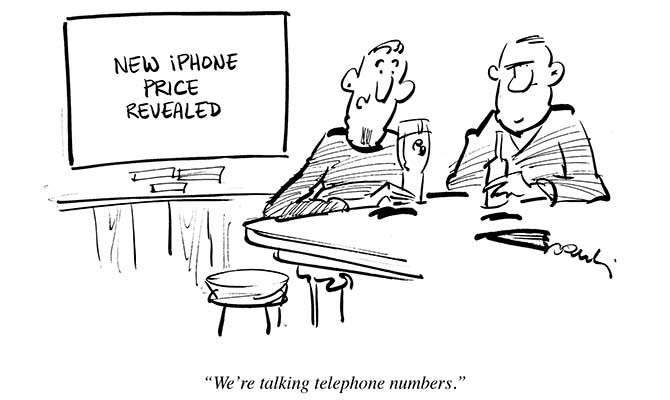 Dowling - New iPhone price