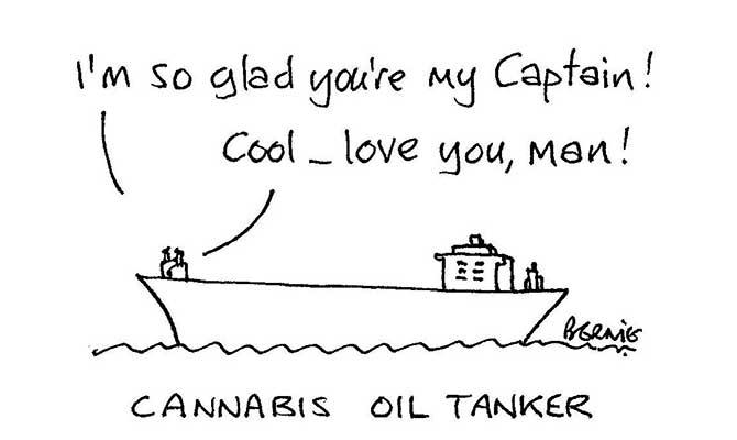 Bernie - Cannabis oil tanker