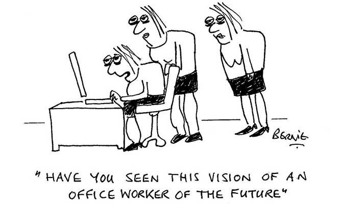 Bernie - Office worker