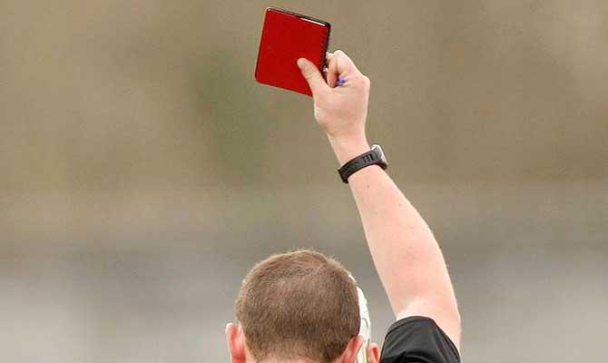 GAA-red-card