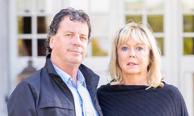 Ian Switzer and Elizabeth Balbirnie