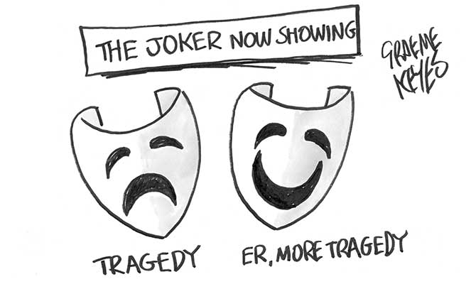 Keyes - Joker now showing