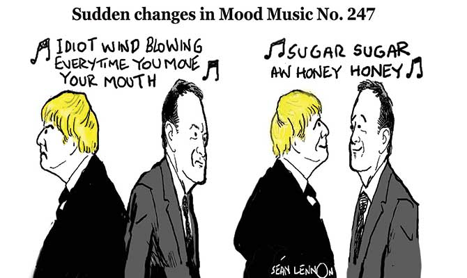 Lennon - Changes in the mood music