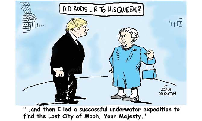 Lennon - Did Boris lie?