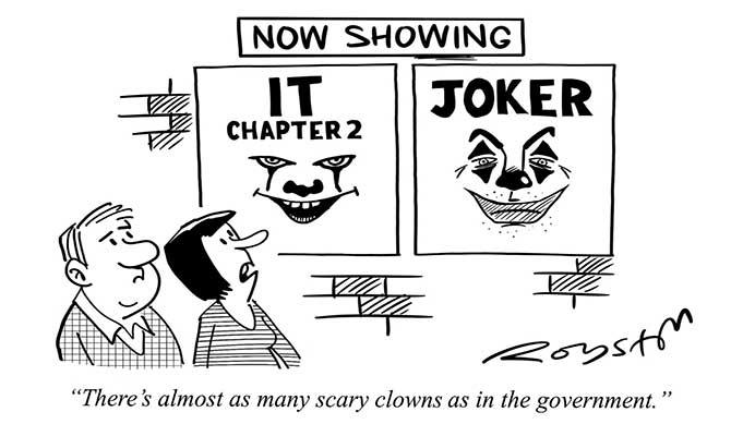 Royston - Scary clowns