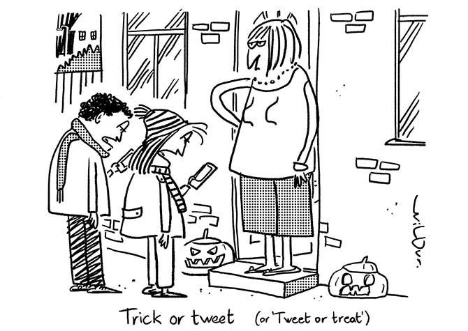Wilbur - Trick or Tweet