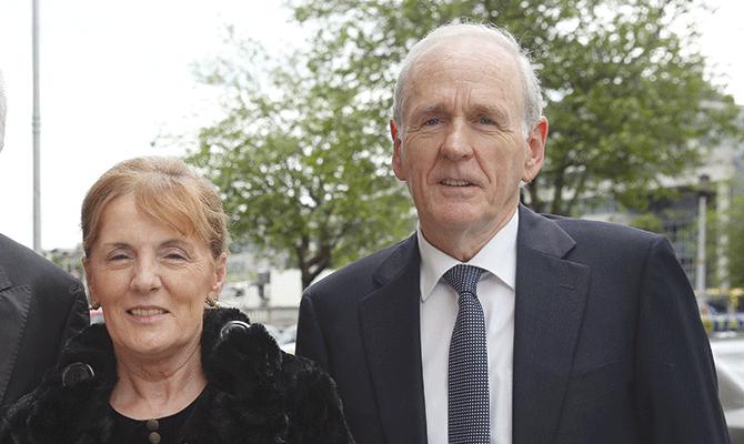 Sheila and Brendan Hade
