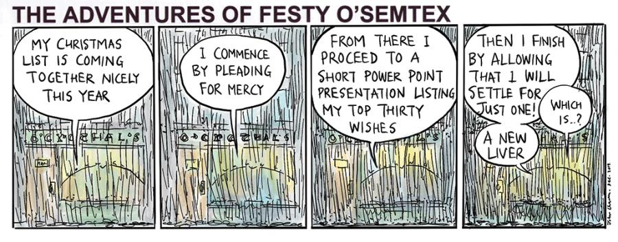 Festy - Christmas List