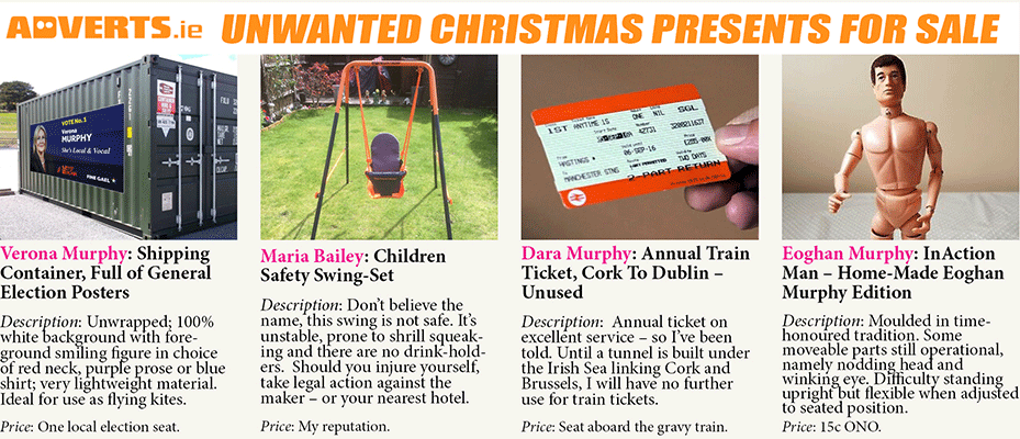 Unwanted Christmas Presents