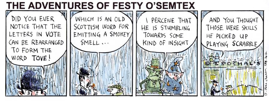 Festy O'Semtex - Election