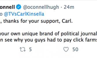 Twitter Carl Kinsella