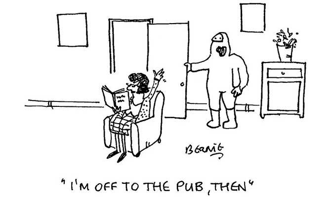 Bernie - Off to the pub