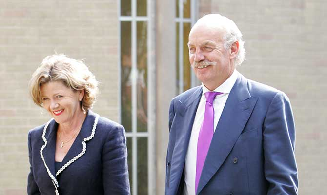 Pat and Dermot Desmond