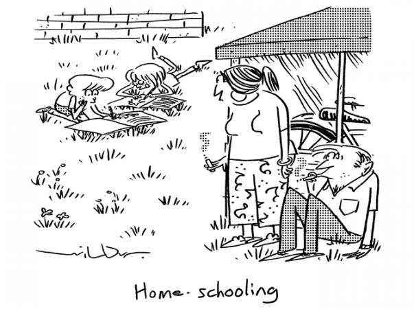 Wilbur - Home schooling