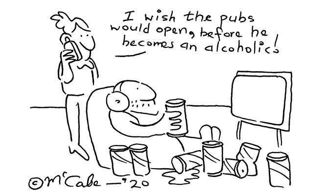 McCabe - Wish the pubs