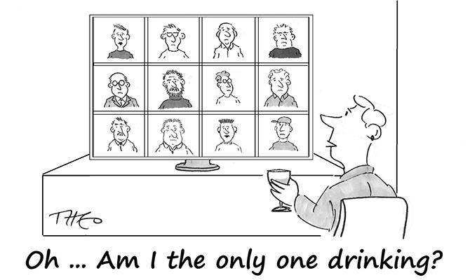 Theo - Zoom drinker