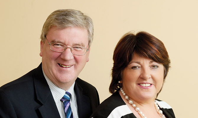 Pat and Una McDonagh